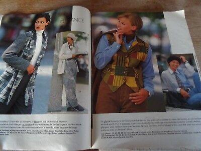 Magazine burda robe signe loris azzaro parka blouson gilet n°10  1994