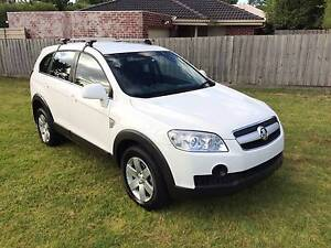 2007 HOLDEN CAPTIVA 7 SEATER TURBO DIESEL 2L 4CYL LOW MILEAGE RWC Dandenong Greater Dandenong Preview