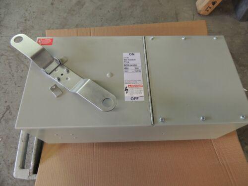 BOS14355 SIEMENS I.T.E. BD SWITCH PLUG, RECON 400 AMP, 600V