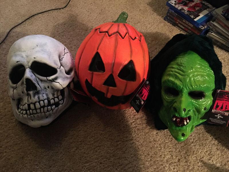 Halloween Iii Silver Shamrock Masks Trick Or Treat Studios New Rare Micheal Myer