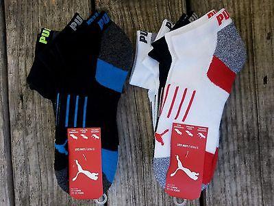 3 Pair Mens Puma Socks 10-13 SHOE 6-12 Low Cut