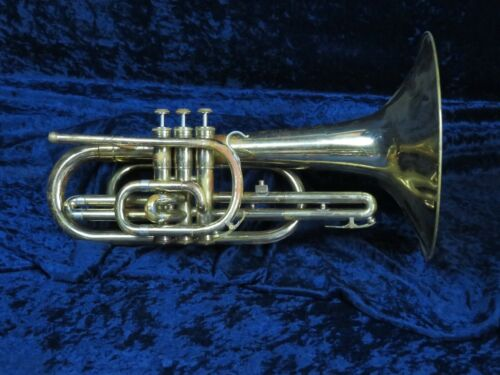 Olds F Mellophone Ser#A01723 Plays Well with the Classic Big Bold Olds Tone!