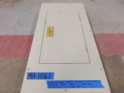 225 Amp Panel Panelboard 200 175 150 Mlo 480v 3 Phase Breaker Wehd