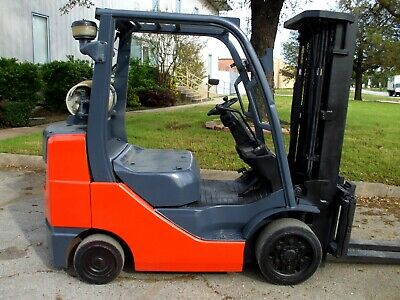 2015 Toyota 8fgcu30 6000 Capacity Forklift