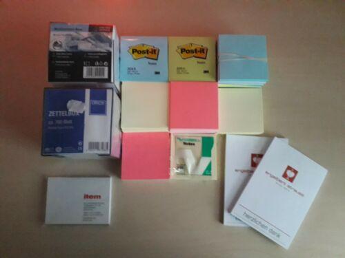 Post-it® Haftnotiz-Würfel, Notizzettel Notizwürfel
