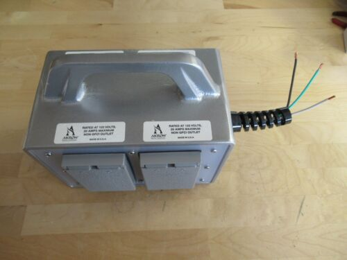 Akron Brass Electrical Junction Box for Fire Rescue (Pierce p/n 63-4450-0004)
