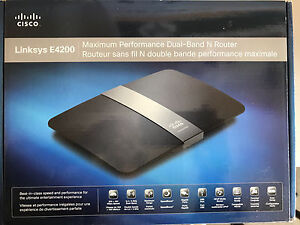Cisco Linksys E4200 router