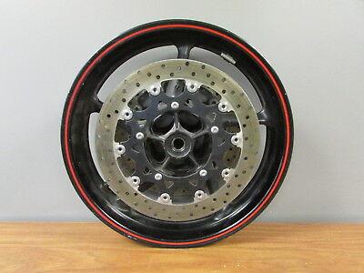 2007 2008 Yamaha YZF R1 R-1 OEM Front Wheel Rim & Brake Rotors Straight  for sale  Munford
