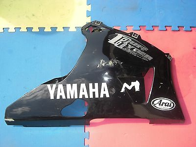 Right side lower fairing belly pan under cowl Yamaha R1 Genuine OEM 98 99 00 01