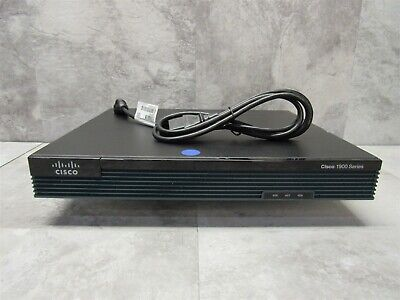 Cisco 1900 Series 1921 Rack Mountable Integrated Services Gigabit Network Router