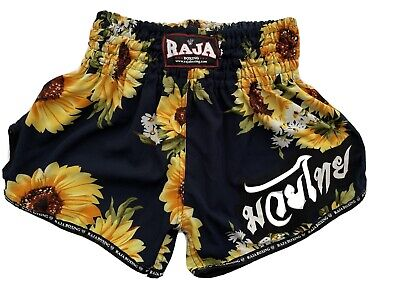 Sunflower Muay Thai Shorts MMA boxing Made in Thailand Size Large