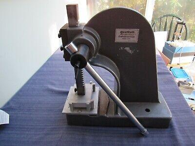 Quantum 3 Ton Arbor Press Drehdornpresse Germany Model Ddp2