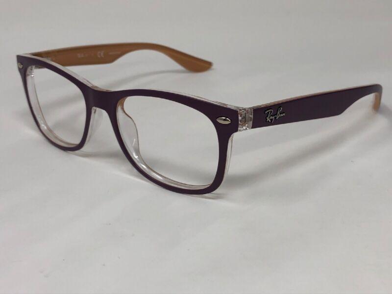 RAY-BAN JR WAYFARER Sunglasses Frame RJ9052S 7033/11 48-16-130 Purple/Beige TG44