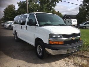 12 Passenger Chevrolet Express - Low KMS!