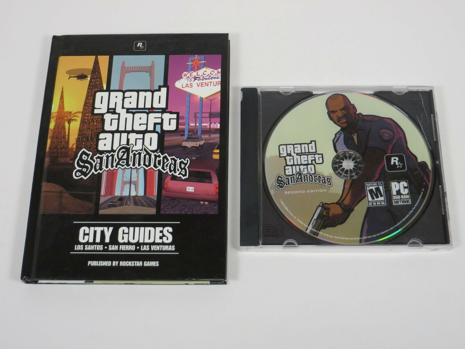 Computer Games - Grand Theft Auto: San Andreas (PC, 2005) PC Vintage Computer Game Rockstar Games