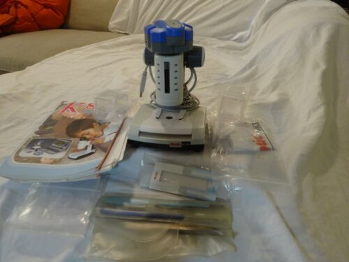 MOTIC Microscope DS-300 Digital Microscope w/ extras COIN collectors Homeschool