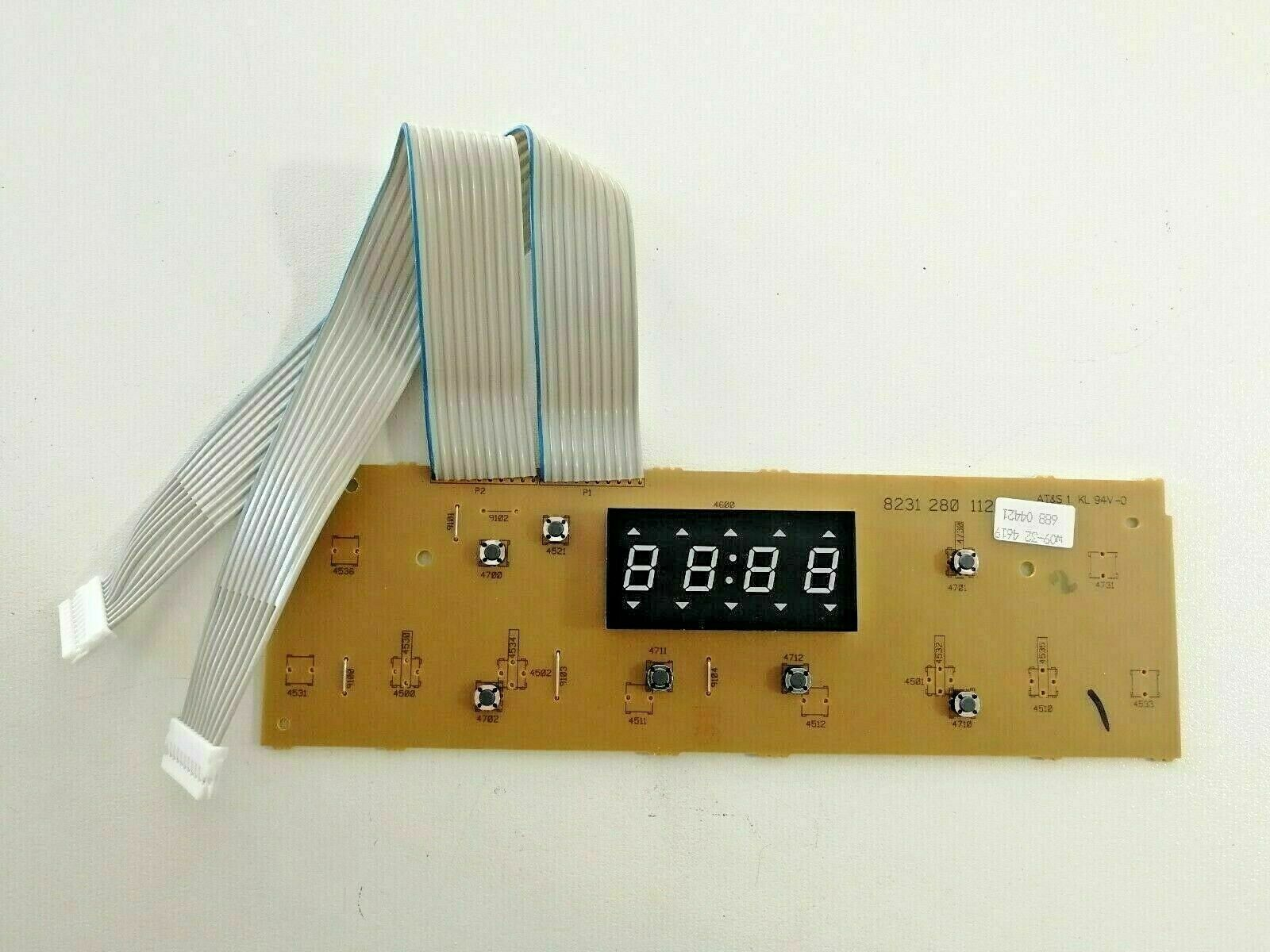 Scheda display originale 481220988088 forno microonde piccolo Whirlpool Ignis