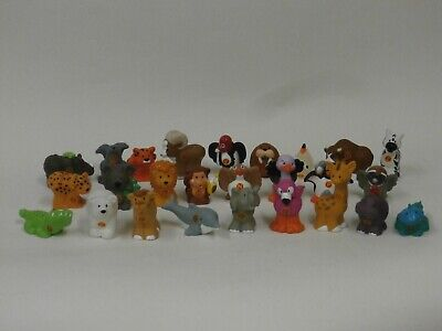 Fisher Price Little People A to Z Learning Zoo Alphabet Animals 26 piece Rare X