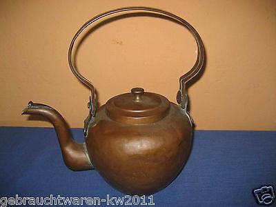 Antiker Wasserkessel aus dem 19. Jahrhundert / Teekessel aus Kupfer