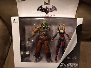 DC Collectibles Batman: Arkham City: Mr. Hammer and Harley Quinn