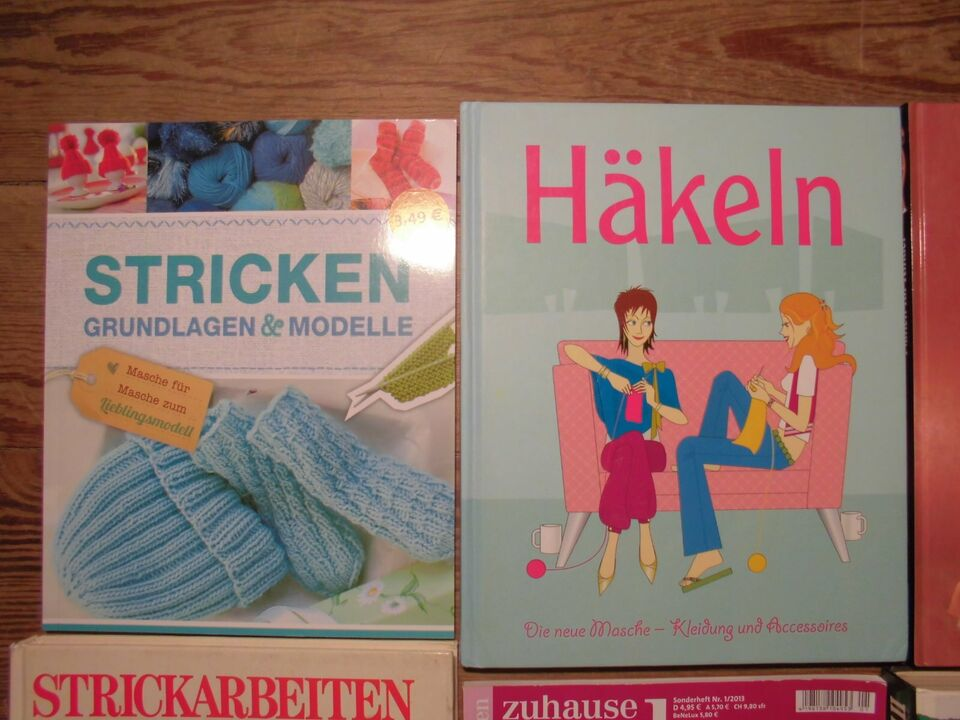 8x Stricken Häkeln Nähen Kinder Sport Pullis Konvolut inkl. Vers. in Kiel - Ravensberg-Brunswik-Düsternbrook