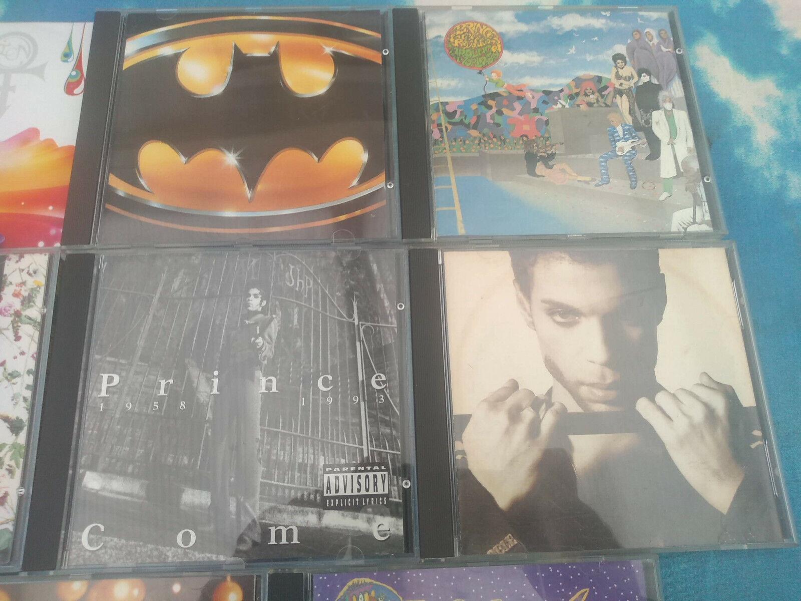 ::PRINCE 8CD JOBLOT 1999/PURPLE RAIN/HITS 2/COME/BATMAN/20TEN +1