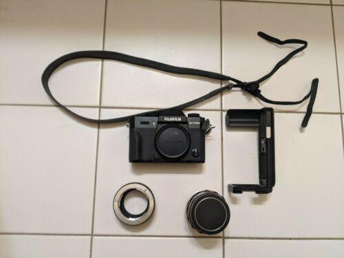 Fujifilm X-T20 24.3MP Digital Camera - Black  w/ Lens and Adapt