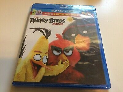 The Angry Birds Movie Blu-ray DVD Brand New, Factory Sealed! Incl Deleted Scenes