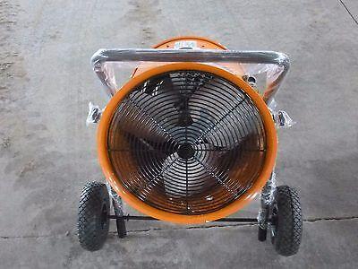 061970 New Dayton- Electric Salamander Heater Fan-forced 240v3 Phase- 1rkt2