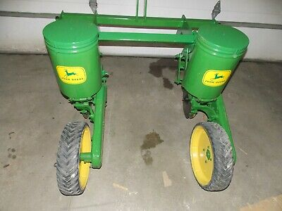 2 Row John Deere Flex Food Plot Corn Planter Jd 71