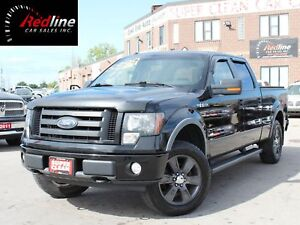 2009 Ford F-150 FX4 SuperCrew Bluetooth-Exhaust-20s