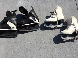Figure skates.