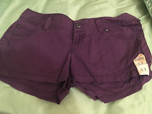 Women's short shorts new with tags