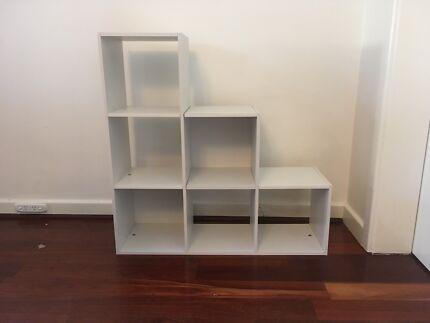 Ladder Cube Storage Unit