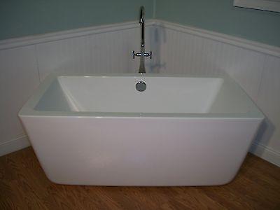 "aM2059 59"" MODERN FREE STANDING BATHTUB & FAUCET bath tub"