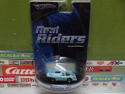 HOT WHEELS 1:64 REAL RIDERS #23 PORSCHE 917, #H9215