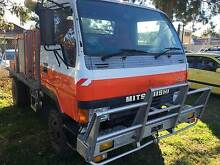 1990 Mitsubishi Canter 4x4 single cab Traytop/fire truck Ex Govt Inverell Inverell Area Preview