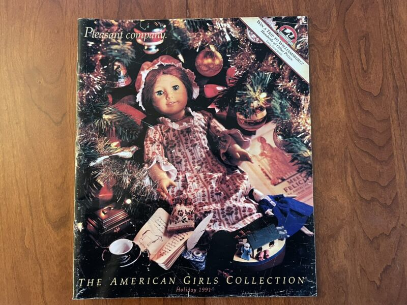 Pleasant Company HOLIDAY 1991 Catalog Felicity American Girl Williamsburg