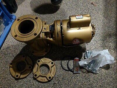 Bell Gossett 102220lf Circulator Booster Pump 14hp 2-12 Ab Lead Free Bronze