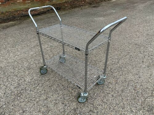 "Uline Used Wire Cart - 36"" X 18"""