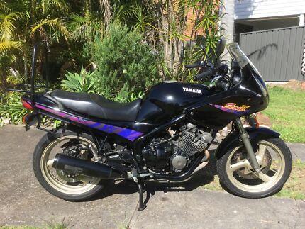 Motorcycle Yamaha XJ 600