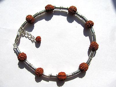 "Ind. Rudraksha ""Tränen Shivas"" Armband 19,5-22 cm Nr. 3261"