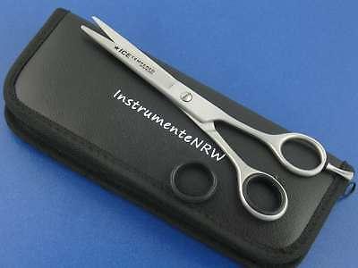 Profi Haarschere Friseurschere 6 Zoll 15,24 cm mit Mikroverzahnung im Etui NEU