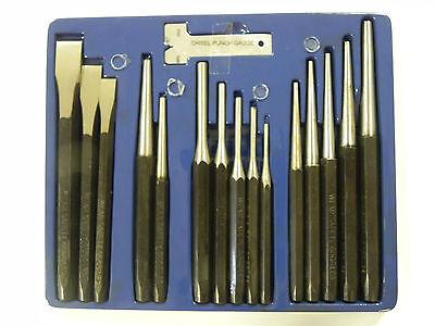 Splintentreiber Splintreiber Satz Durchschlag Flach-Meißel Set Werkzeug Treiber