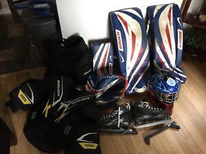Equipment de hockey