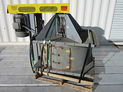 American Fan Industrial Blower Unit W 3ph Toshiba Bo154flf2us Induction Motor