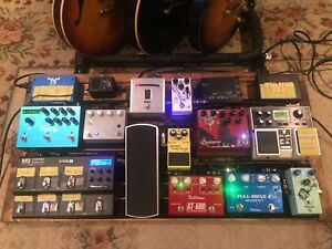 Custom pedal boards