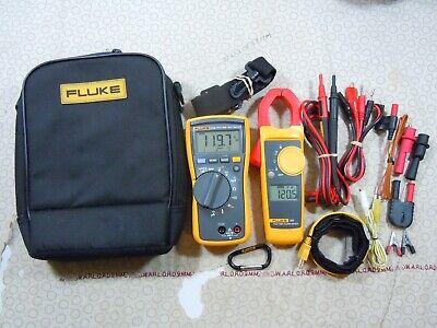 Fluke 116323 Hvac Kit With Accessories Fluke Case - 15685-15686.