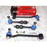 4WD 95-99 Ram 2500 3500 NEW 4PCS Front & Rear Sway Bar Links K7280 K7371