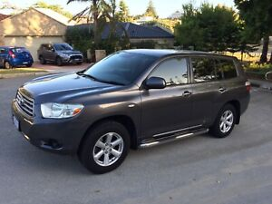 2008 Toyota Kluger AWD 7 seater